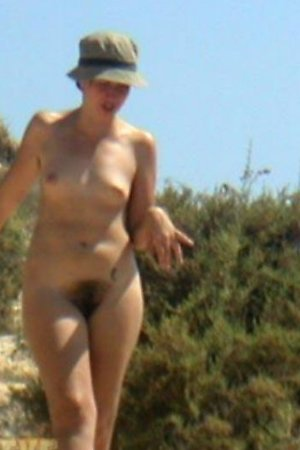 Peeping for female nudists