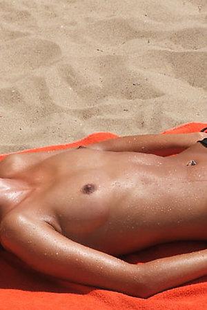 Voyeurism nude beach footage
