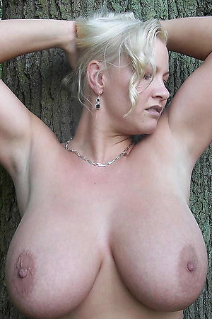 Women of middle age, but with larger breast size