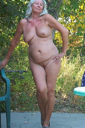 Nudist grannies proud to pose naked