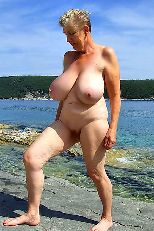 Exclusive photos and videos from nudist beach