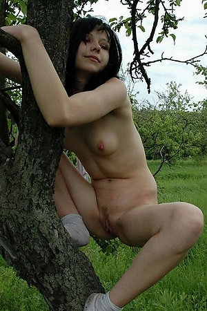 Best way for shy nude virgin to escape from a forest maniac