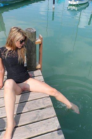 lovely nudist girlfriend secretly wants sex on a nudist beach