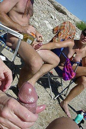 increased nudist sexuality on the nudist beach
