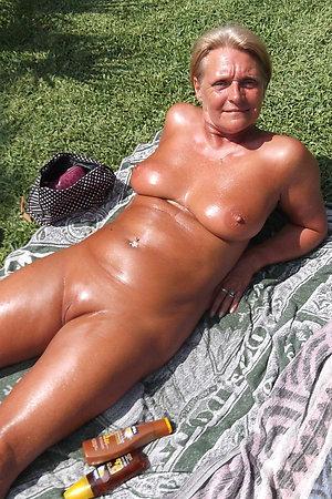 Fat nudist older ladies for your hard cock