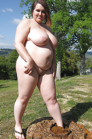 Fat naturists with huge tits