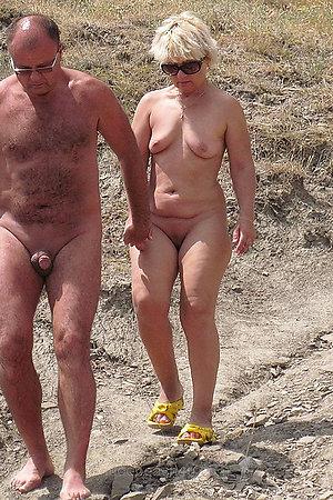 Naturist moms nad grannies on nude beach