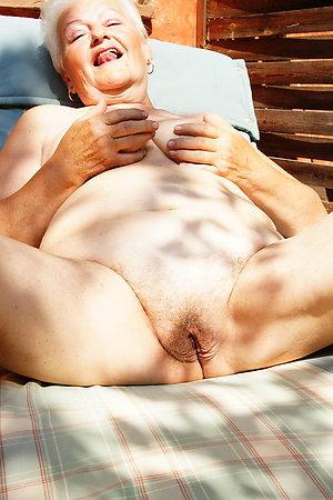 Grannies and their hubbies having nudist fun