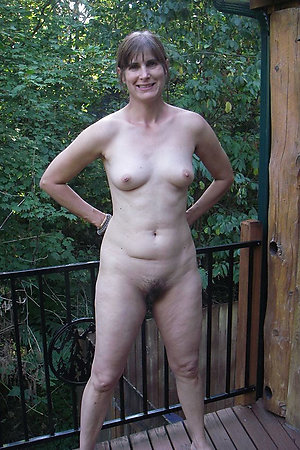 Mature nudist wives and couples outdoors