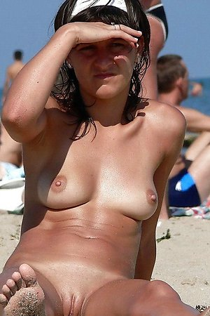 shameless nudist babes enjoys nudist life on the beach holidays