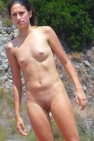 Naked On The Beach! Gallery #77