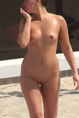Naked On The Beach! Gallery #9