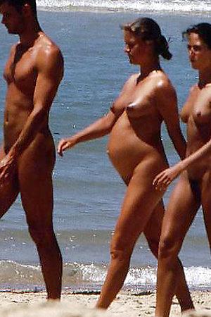 Real sex on the beach, hidden camera