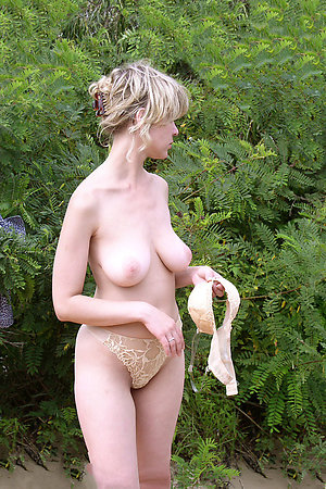 Shy girls removing panties to feel as naturists