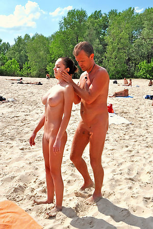 Young nudist girls with nudist old men
