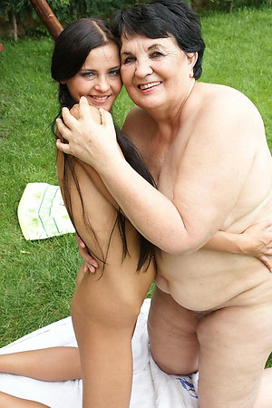 Naturist mature women with nude young girls