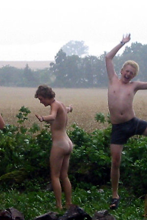Naturist groups with age defference