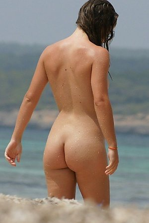 Much galleries contains naked beach, nude woman, tanned body at nude beach