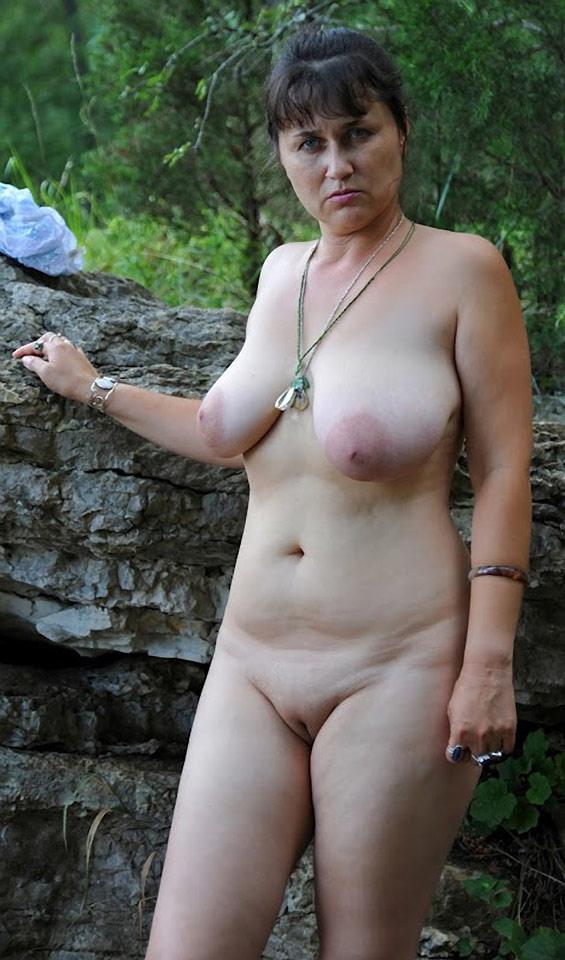 Amateur natural nude mature women